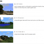 Top cool minecraft seeds location and spawn points