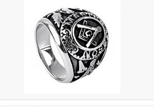 The Domineering Vinta freemason ring
